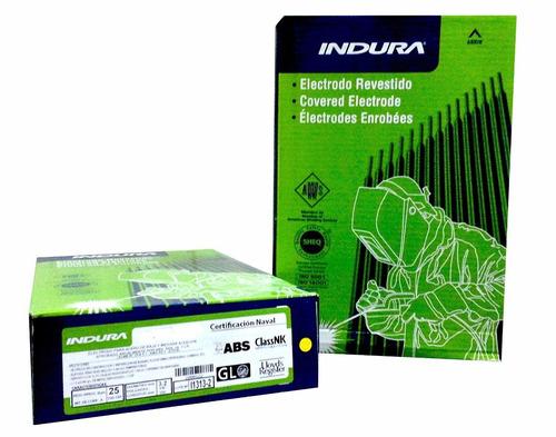electrodo rutilico e-6013 (aga r-13) 2.4mm x 5kg. indura