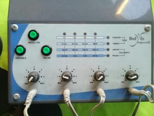 electroestimulador profesional bodyfix de 8 electrodos