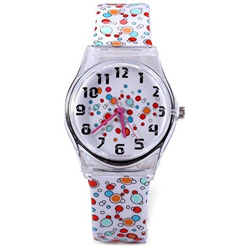a2582dee768a Eleoption Relojes Para Chicas Adolescentes Precioso Cuarz - U S 44 ...