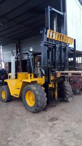 elevador montacarga caterpillar r80  1998   7500 kil
