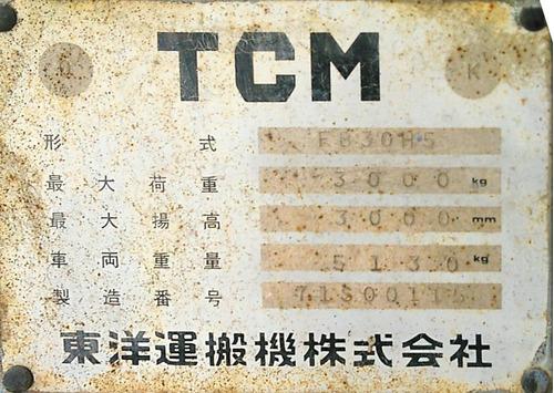 elevador tcm soporta 3 toneladas levanta hasta 3 metros