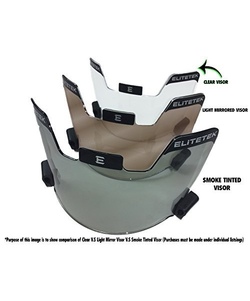 1ea532ee Elitetek Football & Lax Lacrosse Eye-shield Visor (clear) - U$S 65 ...