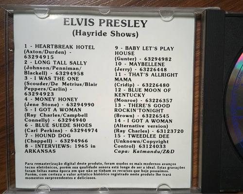 elvis presley - hayride shows 1955 (cd)