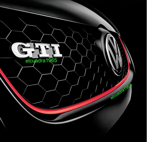 emblema insignia volkswagen gti logo vw