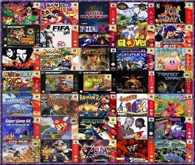 Emulador 70 Juegos Nintendo 64 50 00 En Mercado Libre