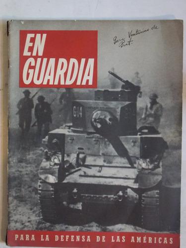 en guardia año 1 nº 2, década del 40, eeuu 2da guerra
