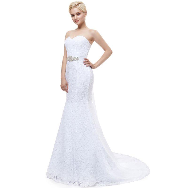 En Stock Vestido Novia Boda Sirena Nuevo 15 Años Casamiento