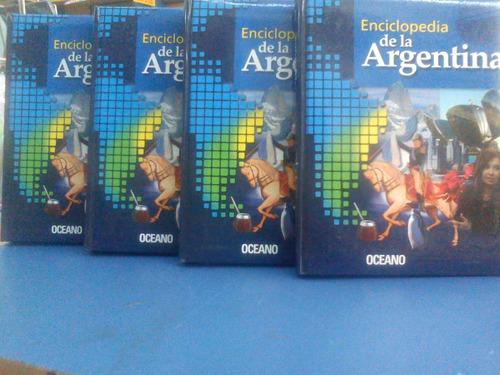 enciclopedia de la argentina 4 tomos