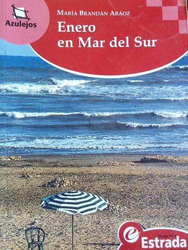 enero en mar del sur. maria brandan araoz. estrada azulejos
