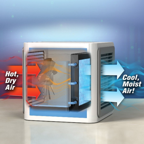 enfriador aire purificador humidifica ventilador arctic air