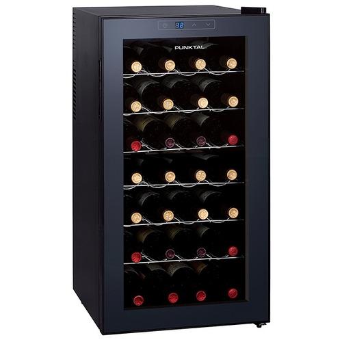 enfriadora de vinos punktal 28 botellas 70lts 28lt pk-28lt