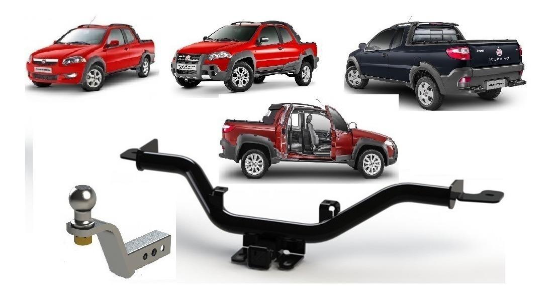Enganche Fiat Strada Adventure Working Locker