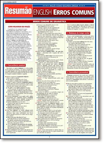 english erros comuns de expert editions barros fischer & ass