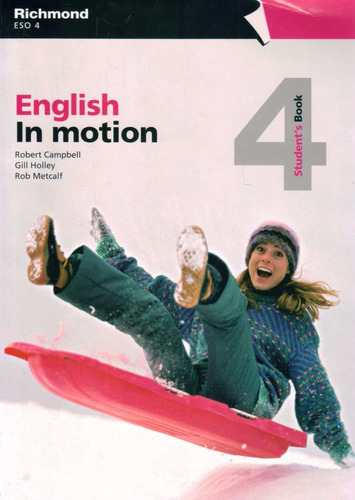 english in motion 4 - students book + workbook - richmond