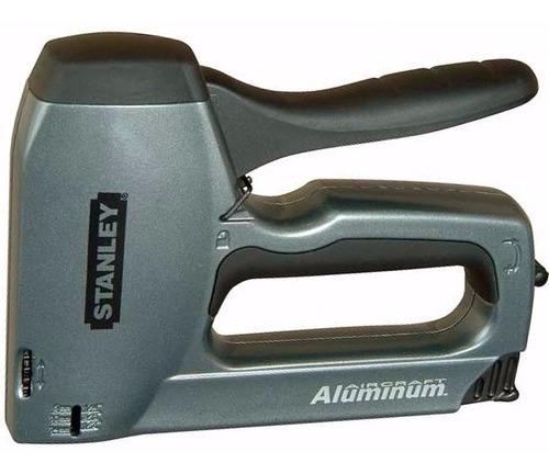 engrampadora clavadora stanley trabajo pesado tr250 aluminio