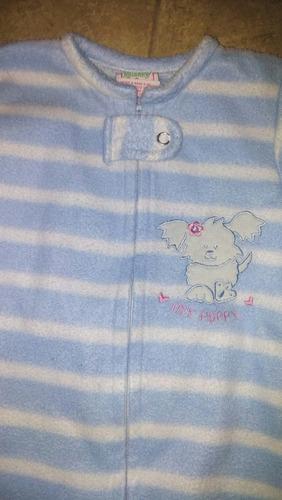 enterito pañalero body o pijama polar  6 a 9 meses casi nuev