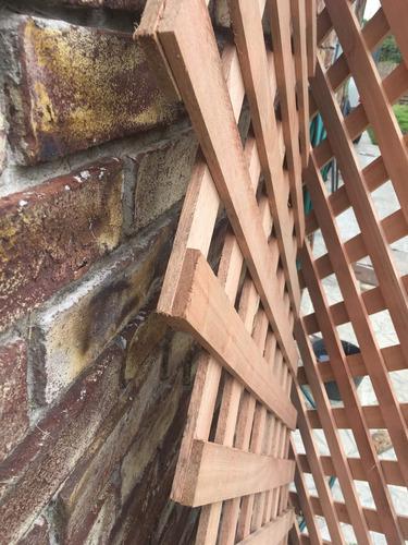 entramado treillage decorativo en eucalipto clear