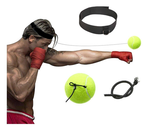 entrenador de boxeo jab bouncing ball para reflejo - el rey