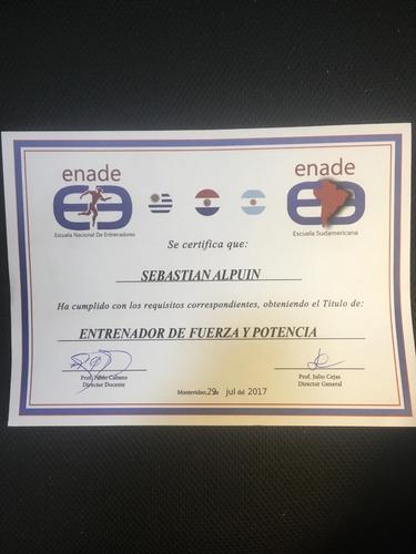 entrenador personal / personal trainer