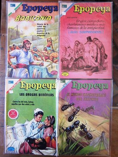 epopeya editorial novaro comics 60's y 70's  6 numeros