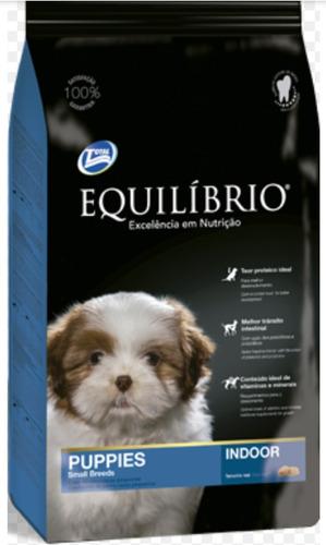 equilibrio cachorro raza pequeña 7.5kg + 3 pate + 6 pagos