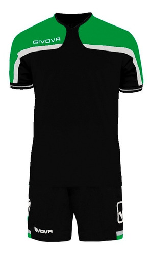 equipamiento givova fútbol conjunto camiseta short mvd sport
