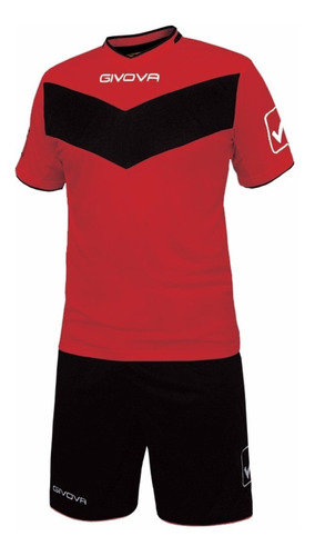 equipamiento givova fútbol conjunto camiseta short mvdsport