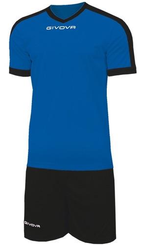 equipamiento givova revolut fútbol conjunto camiseta short