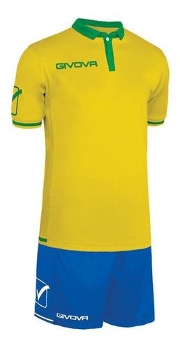 equipamiento givova world de fútbol camiseta y short