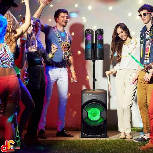 equipo audio minicomponente  parlante sony mhcgt4 futuroxxi