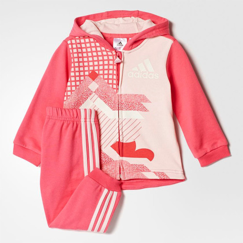 equipo conjunto kit deportivo adidas en felpa niña niño