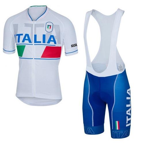 equipo de ciclismo italia badana gel 6mm
