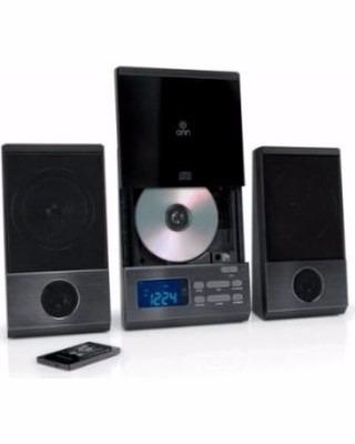 equipo de música radio am fm cd control remoto luz led ofert