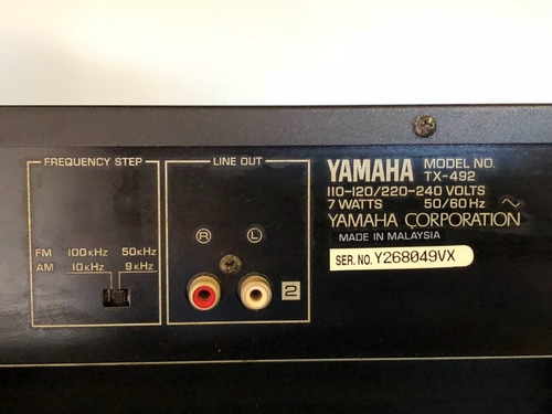 equipo yamaha - natural sound  sonido espectacular