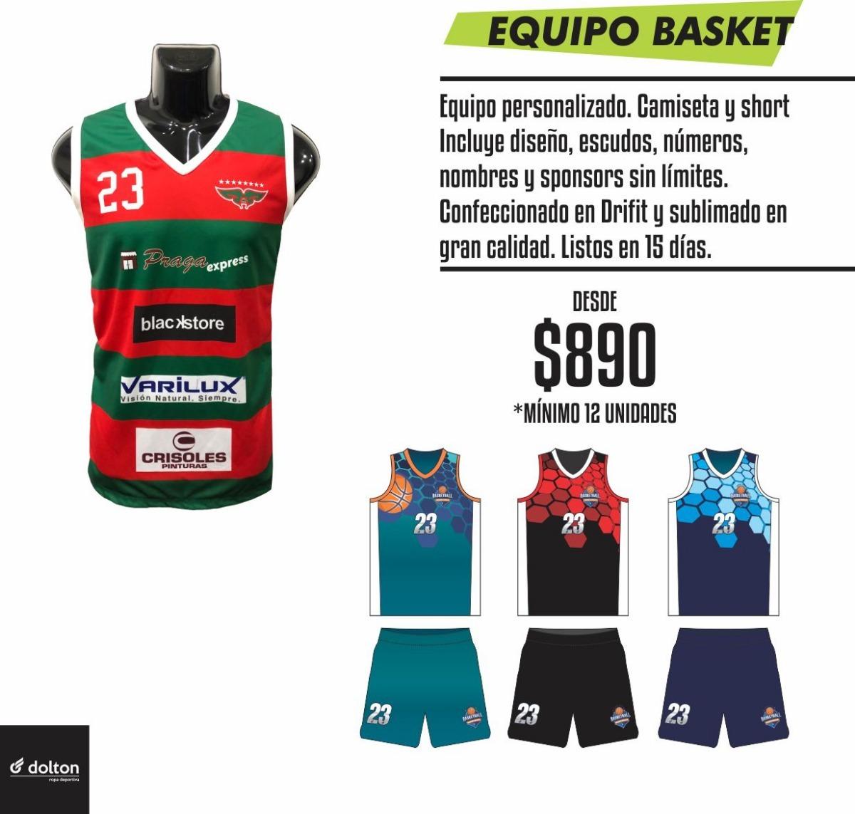 Equipos De Fútbol Y Basket Personalizados -   890 bec95323f5754