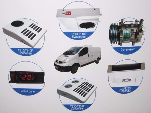 equipos de refrigeración para furgones