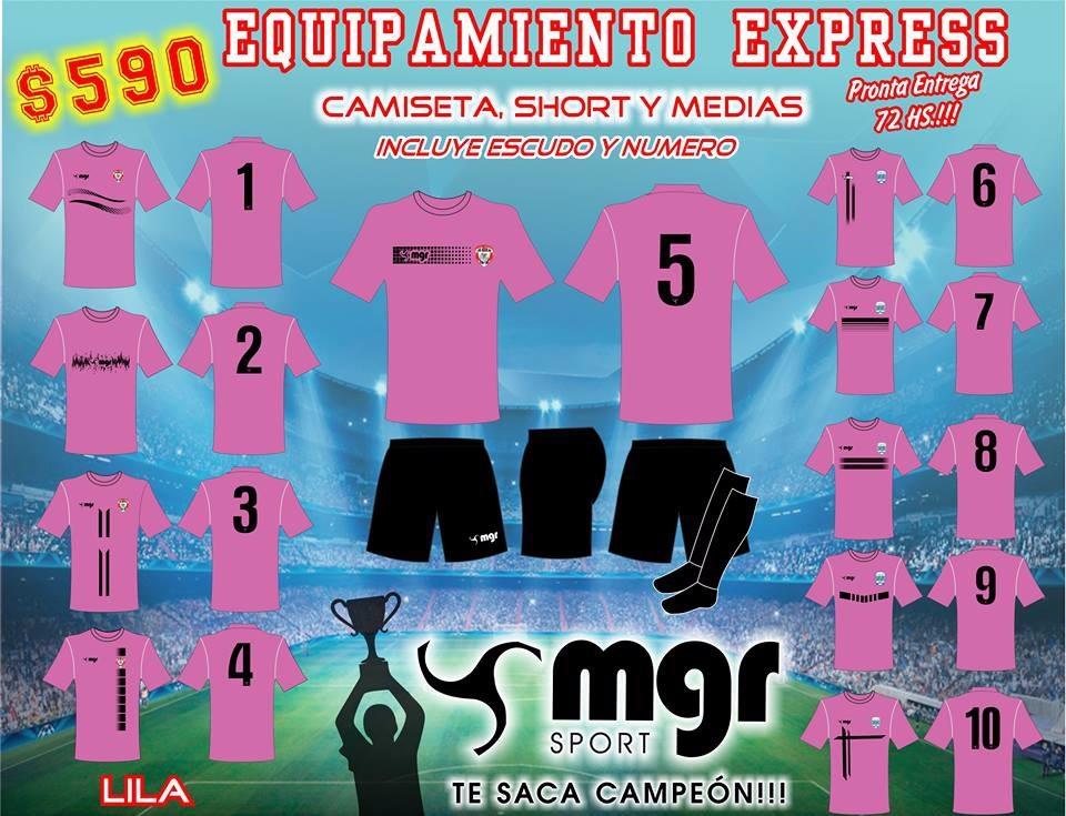 Equipos Expres 2019 - Mgr Sport Oficial -   590 1bd742b965223