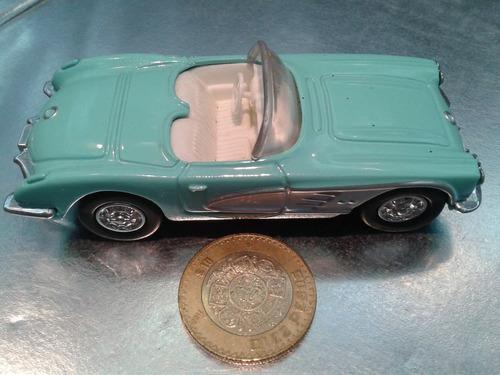 ertl - 1960 chevy corvette escala 1/43