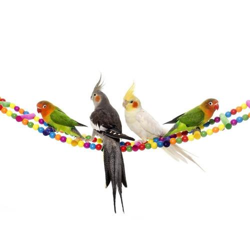escalera aves juguetes para bird parrot macaw africana gr