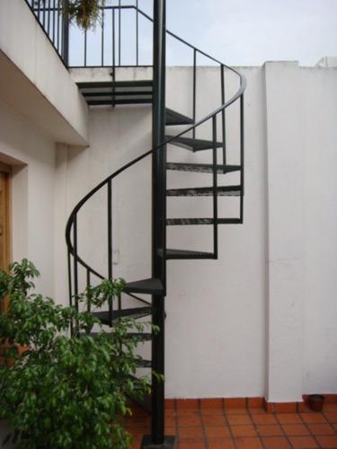 Escalera Caracol Para Interior Y Exterior - $ 4.490,00 en Mercado Libre