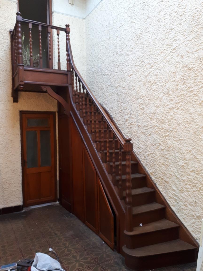 Escalera de madera antigua 15 escalones en - Escalera madera ...