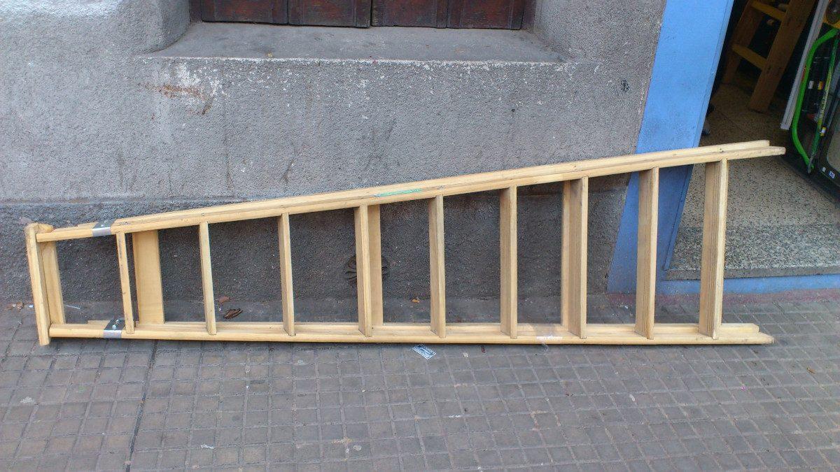 Escalera de madera familiares 4 escalones garantia nueva for Construir una escalera de jardin de madera