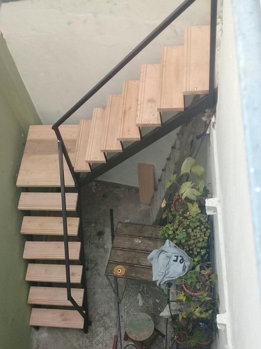 Escaleras caracol 96886055 5400 y rectas hierro y madera - Escalera caracol de madera ...