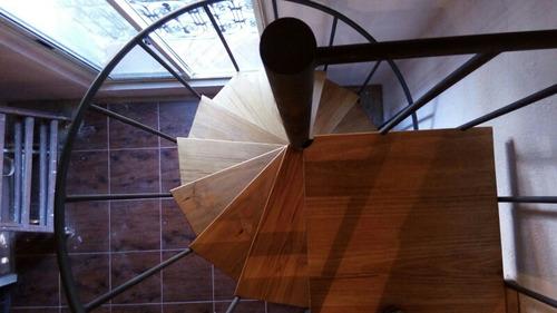 Escaleras Caracol, Escalones De Madera. Precio X Metro. - $ 8.000,00 ...
