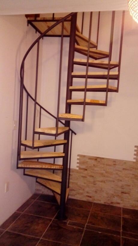 Escaleras caracol escalones de madera precio x metro en mercado libre - Escaleras de caracol en madera ...