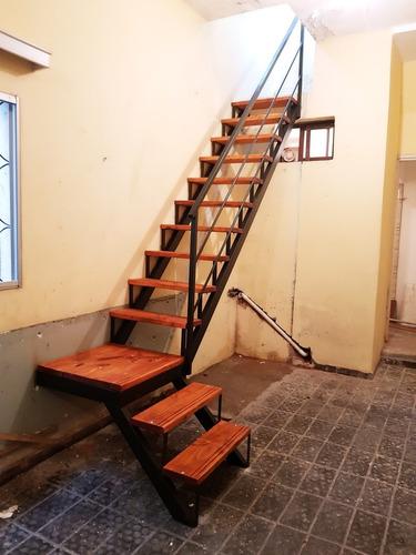 Escaleras caracol rectas hierro y madera en - Precio escaleras interiores ...