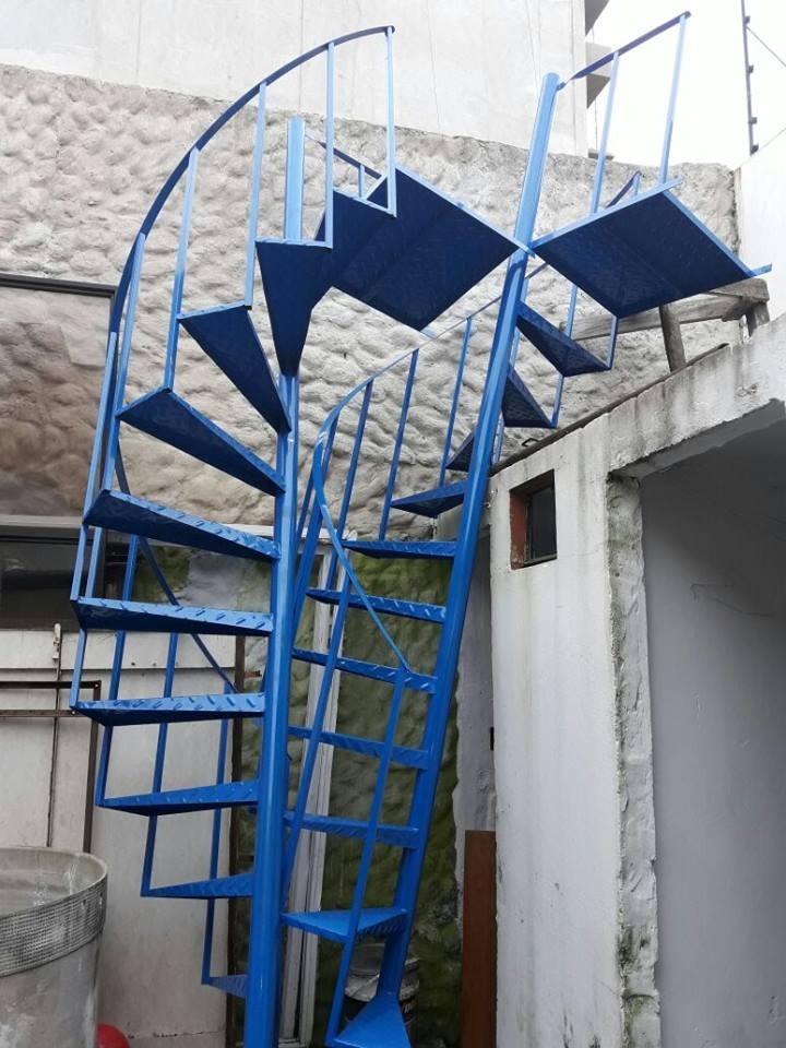 Escaleras Caracol Zona Sur Envios Somos Escaleras Lvm - $ 4.100,00 ...
