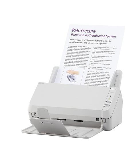 escaner fujitsu sp-1125 led adf duplex 50 hojas 25ppm oficio