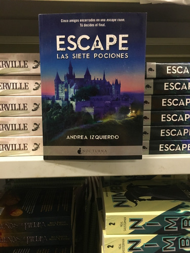 escape: las 7 pociones de andrea izquierdo