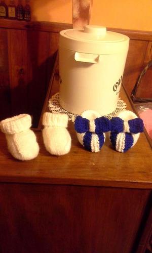 escarpines zapatitos de bebe